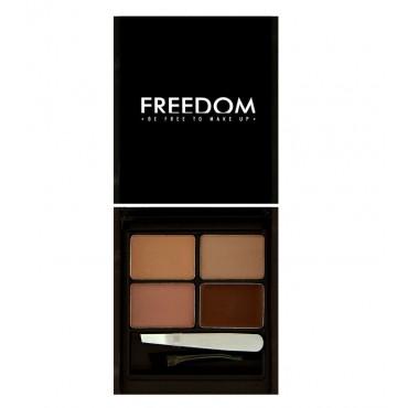 ProArtist Freedom - Kit para cejas Pro Eyebrow - Medium Dark
