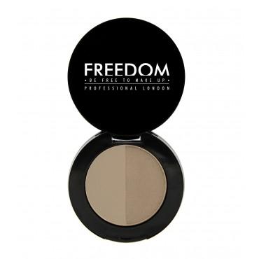 ProArtist Freedom - Sombra para cejas en polvo Duo Brow - Blonde