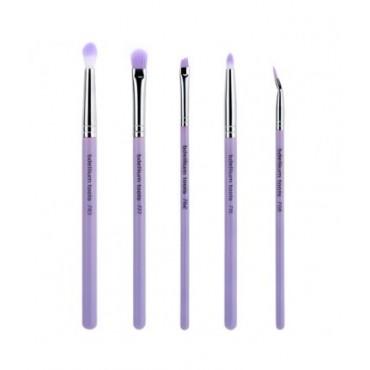 Bdellium - Set 5 brochas Eyes Purple Bambu Sultry