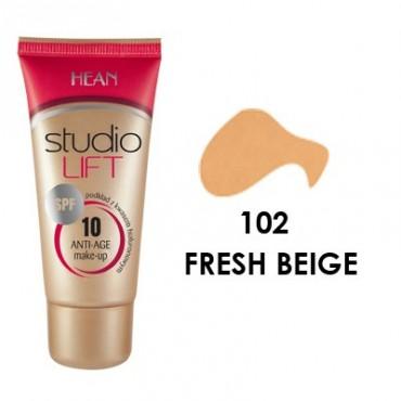 Hean - Base de Maquillaje Studio Lift SPF 10 -102 FRESH BEIGE