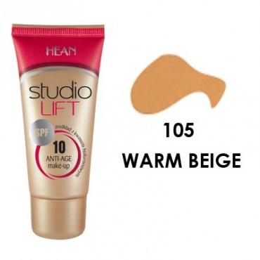 Hean - Base de Maquillaje Studio Lift SPF 10 -105 WARM BEIGE