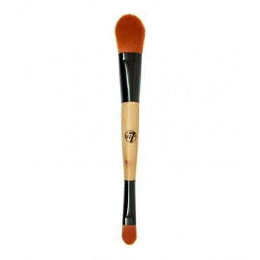 W7 - Brocha doble para corrector y maquillaje