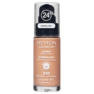Revlon - Base de Maquillaje fluida ColorStay para piel Normal/Seca - 320: True beige