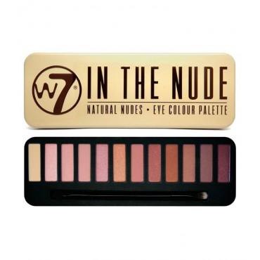 W7 - Paleta de sombras - In the Nude