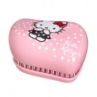 Tangle Teezer Compacto - Cepillo especial para desenredar - Hello Kitty Pink