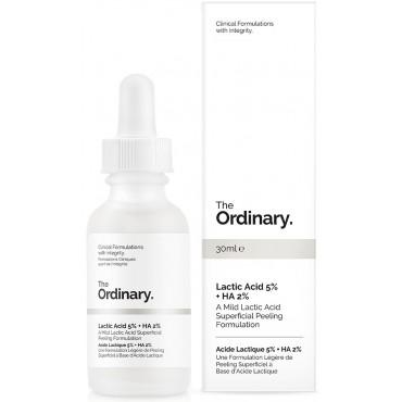 The Ordinary - Acido Láctico 5% + Acido Hialurónico 2%