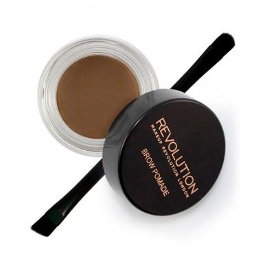 Makeup Revolution - Pomada para cejas - Medium Brown