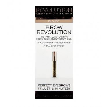 Makeup Revolution - Gel para cejas Brow Revolution - Blonde