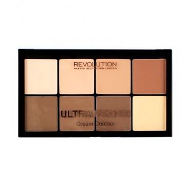 Makeup Revolution - Paleta Contorno en Crema Ultra Pro HD - Light Medium