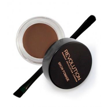 Makeup Revolution - Pomada para cejas - Dark Brown