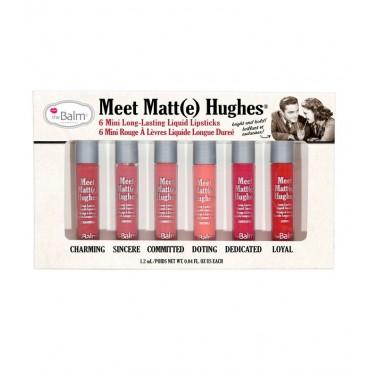 The Balm - Mini Kit Labiales Líquidos Meet Matt(e) Hughes