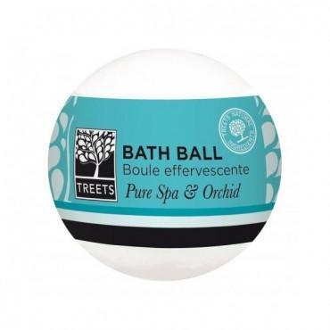 Treets - Bomba de baño Pure Spa & Orchid