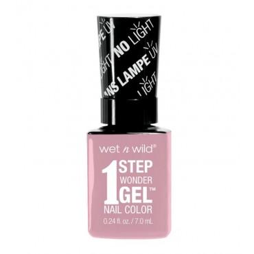 Wet N Wild - Esmalte de uñas 1 Step Wonder Gel - E7211: Pinky Swear