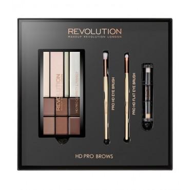 Makeup Revolution - Set para Cejas HD Pro