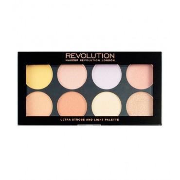 Makeup Revolution - Paleta de Iluminadores Ultra Strobe and Light