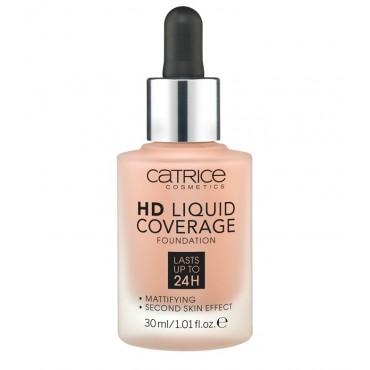 Catrice - Base de maquillaje HD Liquid Coverage: 040 Warm Beige