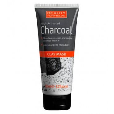 Beauty Formulas - Mascarilla de arcilla con carbón activado