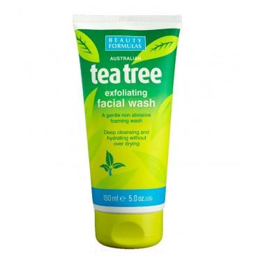 Beauty Formulas - Gel facial exfoliante del Árbol del té