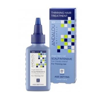 Andalou Naturals - Células madre de argán, tratamiento intensivo para el cuero cabelludo, afinamiento del cabello, anti-age