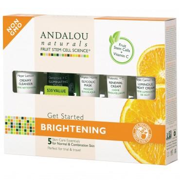 Andalou Naturals - Kit de iniciación Iluminador (5 unidades)