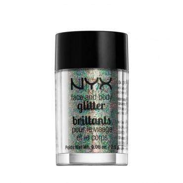 NYX - Face & Body Glitter - GLI06: Crystal