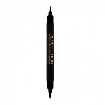 Makeup Revolution - Delineador doble punta rotulador fino-grueso