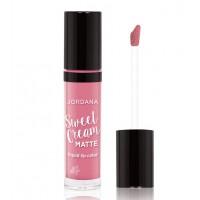 Jordana - Labial Líquido Mate Sweet Cream - 24: Strawberry Sundae