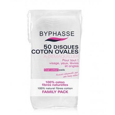 Byphasse - Discos de algod—n ovalados x 50