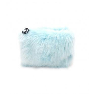 W7 - Neceser Furry Pequeño - Azul cielo