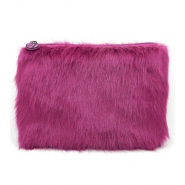 W7 - Neceser Furry Grande - Púrpura