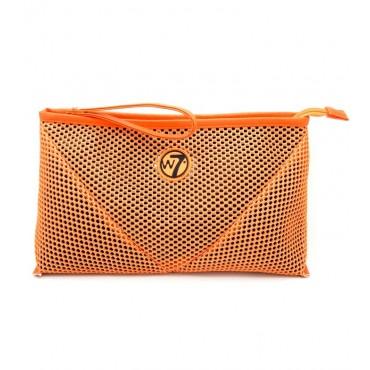 W7 - Neceser Mesh Grande - Naranja