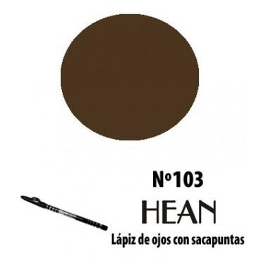 Hean - Lápiz de Ojos con Sacapunta 103