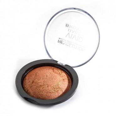 Makeup Revolution - Bronceador en Polvo Baked - Bronzed Fame