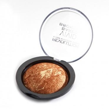 Makeup Revolution - Bronceador en Polvo Baked - Rock on world