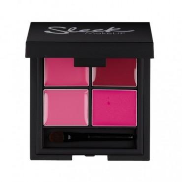 Sleek Makeup - Paleta de 4 labiales Lip 4 - Showgirl