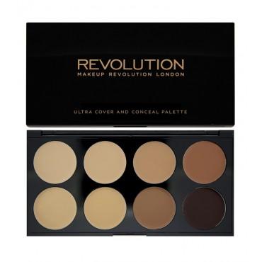 Makeup Revolution - Paleta de Correctores Ultra - Medium-Dark