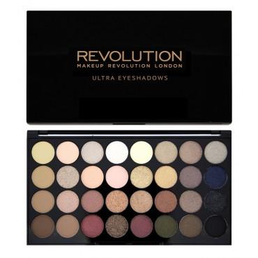 Makeup Revolution - Paleta de Sombras - Flawless