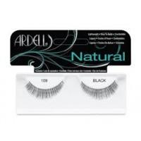 Ardell - Pestañas postizas Fashion Natural 109-Black.