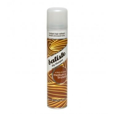 Batiste - Champú en seco para cabellos castaños 200ml - Medium & Brunette
