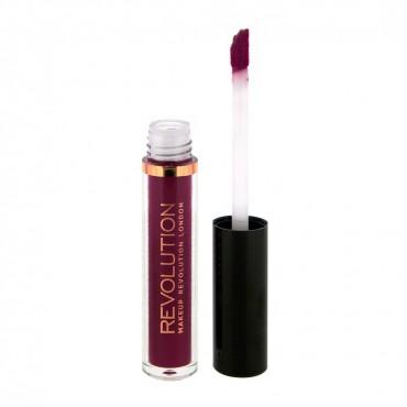 Makeup Revolution - Labial líquido mate Salvation Velvet - Rebel
