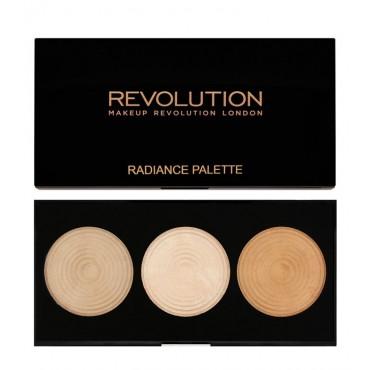 Makeup Revolution - Paleta de iluminadores Radiance