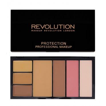 Makeup Revolution - Paleta Protection Medium Dark