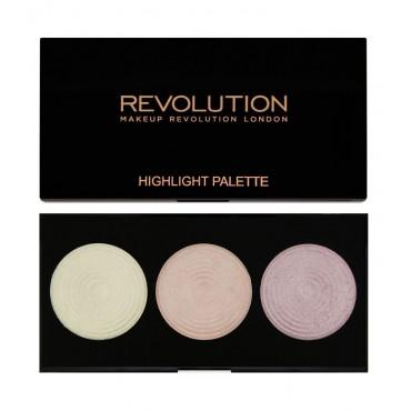 Makeup Revolution - Paleta de iluminadores Highlight