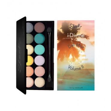 Sleek MakeUP - Paleta de sombras i-Divine Del Mar Vol.2