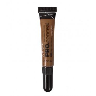 L.A. Girl - Corrector líquido Pro Concealer HD High-definition - GC988: Dark Cocoa