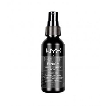 Nyx - Fijador de maquillaje en spray Matte Finish