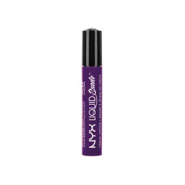 NYX - Labial Líquido Suede Cream Lipstick - LSCL10: Amethyst