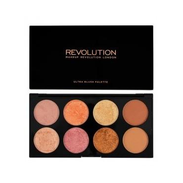 Makeup Revolution - Paleta de coloretes y contorno Ultra - Golden Sugar 2