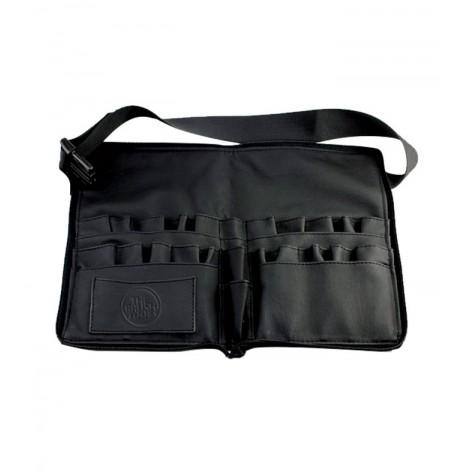The Brush Tools - Manta Cinturon de Brochas con cremallera - Negro