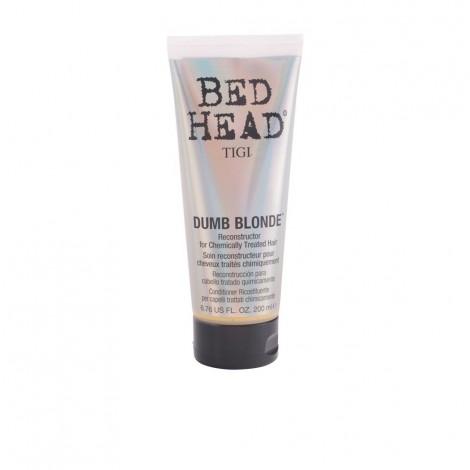 TIGI - BED HEAD DUMB BLONDE reconstructor para cabello rubio o claro 200 ml